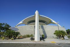 Exterior view of LAX Theme Building Stock Photography