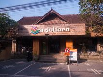 Exterior view of linen store in Bali
