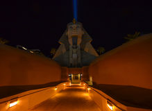 Exterior view of Luxor hotel Royalty Free Stock Photography