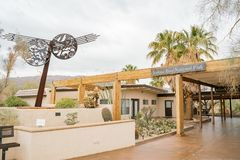 Free Exterior View Of The Joshua Tree National Park Visitor Center Stock Image - 137782621