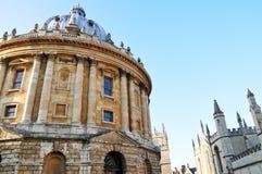 Exterior view of Radcliffe Camera, Oxford, England