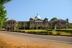 Exterior view of Savitribai Phule agriculture college. Pune Royalty Free Stock Photography