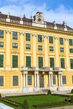 Exterior view of Schonbrunn palace in Vienna, Austria. Exterior view of landmark Schonbrunn palace in Vienna, Austria Stock Photography