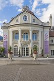 Exterior view of the Spa house of Merano, Alto Adige, Italy. Exterior view of the Spa house of Merano, South Tyrol, Italy stock images