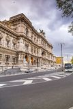 Exterior view of the Supreme Court in Rome, Italy royalty free stock image