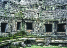 Exterior View Of Ta Prohm Temple Royalty Free Stock Photos