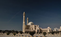 Exterior view to Al Fateh Mosque, Manama, Bahrain Royalty Free Stock Photography