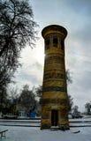 Exterior view to Bolo Hauz minaret, Bukhara, uzbekistan Stock Images