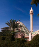 Exterior view to Fatima mosque, Kuwait Royalty Free Stock Photo