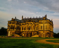 Exterior view to Grosser Garten palace, Dresden, Germany Stock Photos