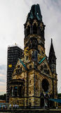 Exterior view to Kaiser-Wilhelm-Gedachtnis-Kirche, Berlin, Germany Stock Photo