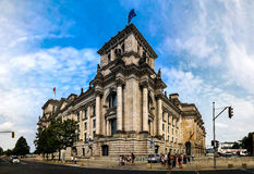 Exterior view to Reichstag Building, Berlin, Germany Stock Images