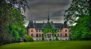 Exterior view to Sofiero palace, helsingborg, sweden. Exterior view to Sofiero palace at Helsingborg, Sweden stock image