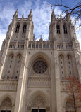 Exterior view Washington National Cathedral Stock Photo