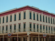Exterior of a Vintage Building Royalty Free Stock Photography