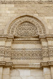 Exterior wall of Al-Hakim mosque ,Cairo, Egypt. Royalty Free Stock Photo