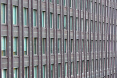 Exterior wall with many windows Royalty Free Stock Photography