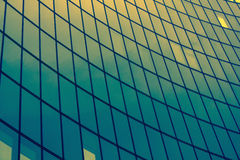 Exterior wall of an office building. Stock Photo