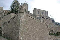 Sisteron Citadel, France Royalty Free Stock Photos