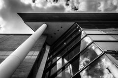 The exterior of Walter's Art Museum in Mount Vernon, Baltimore, Royalty Free Stock Image