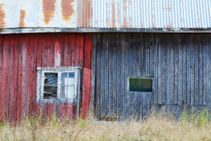 Exterior of weathered shed Royalty Free Stock Photo