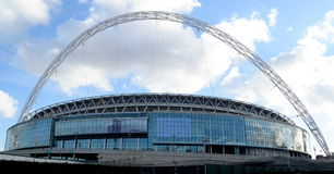 Exterior of Wembley Stadium Royalty Free Stock Images