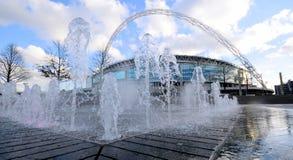 Exterior of Wembley Stadium Stock Photos