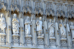 Exterior of Westminster Abbey, London Royalty Free Stock Image