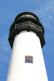 White lighthouse Royalty Free Stock Photo