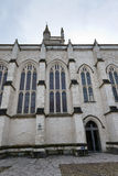 Exterior of Winchester College chapel, UK. Royalty Free Stock Photography