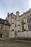 Exterior of Winchester College chapel, UK. Stock Photos