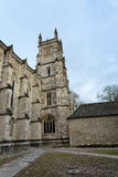 Exterior of Winchester College chapel, UK. Stock Image