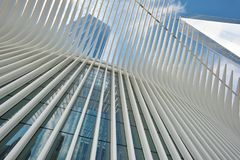 Exterior of the WTC Transportation Hub Royalty Free Stock Photography