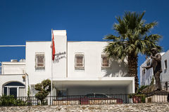 Exterior of the Zeki Muren Museum in Bodrum, Turkey Stock Image