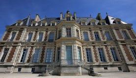 Exteriores do castelo de Sceaux, Sceaux, França Imagem de Stock