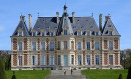 Exteriores do castelo de Sceaux, Sceaux, França Foto de Stock Royalty Free
