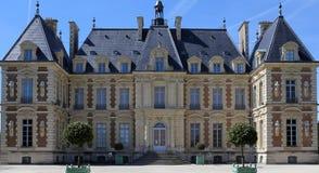 Exteriores do castelo de Sceaux, Sceaux, França Fotografia de Stock Royalty Free