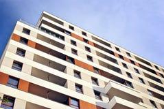 Exteriores modernos dos prédios de apartamentos Foto de Stock