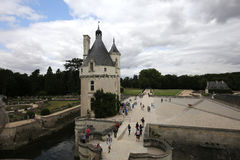 Exteriors Chateau de Chenonceau, Vallee de la Loire, France Stock Photos