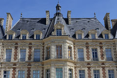 Exteriors of chateau of Sceaux, Sceaux, France Royalty Free Stock Images
