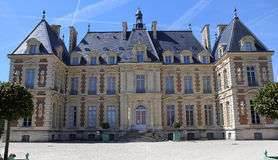 Exteriors of chateau of Sceaux, Sceaux, France Stock Image