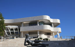 Exteriors of the Getty Center, Los angeles, California Stock Image