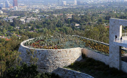 Exteriors of the Getty Center, Los angeles, California Royalty Free Stock Photos