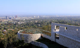 Exteriors of the Getty Center, Los angeles, California Stock Photography
