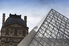 Exteriors of the Louvre museum, Paris, France Stock Photos
