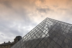 Exteriors of the Louvre museum, Paris, France Royalty Free Stock Photography
