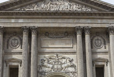 Exteriors of the Louvre museum, Paris, France Stock Photography