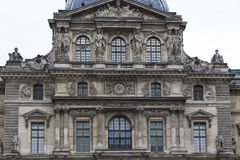 Exteriors of the Louvre museum, Paris, France Royalty Free Stock Photo