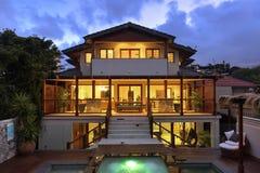 Exteriror Home luxuoso Fotografia de Stock Royalty Free