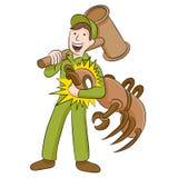 Exterminateur de termite Photographie stock